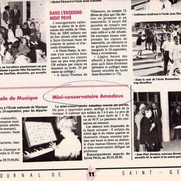 Le journal St Germain