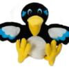 marionnette oiseau pie mélopie