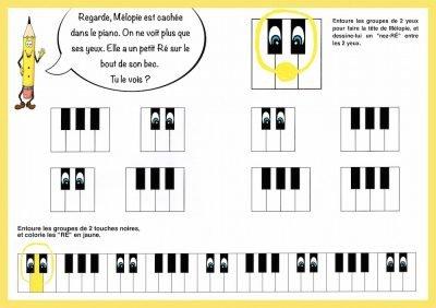piano pour les petit