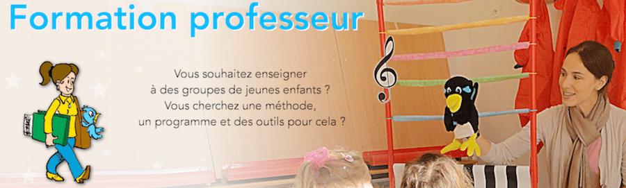 formation professeur de musique