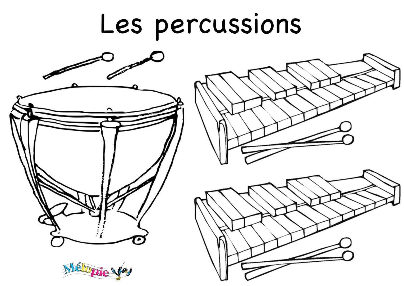 Dessin Xylophone Melopie