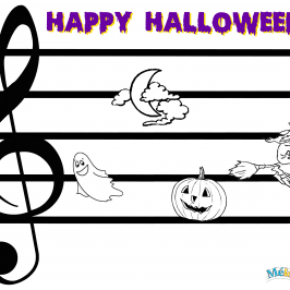 Solfège enfant, Happy Halloween
