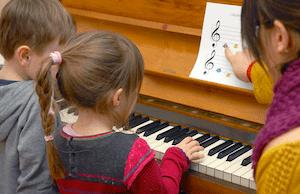 cours piano enfant
