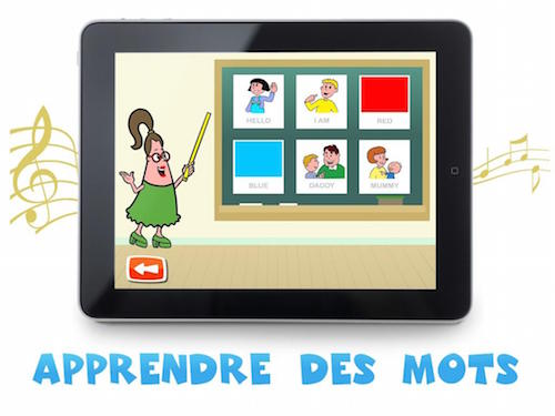 application anglais enfant