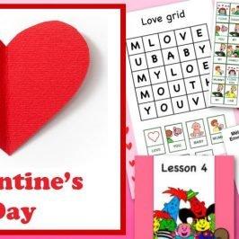 St Valentin : bricolage, activités et chansons en anglais