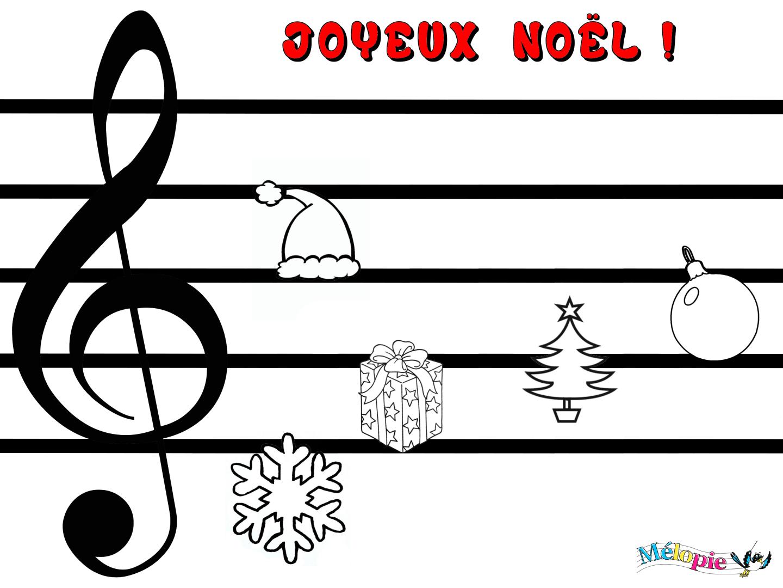 Connu Solfege enfant - activité musical de Noël pour réviser les notes  PF75