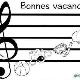 activité musique bonnes vacances