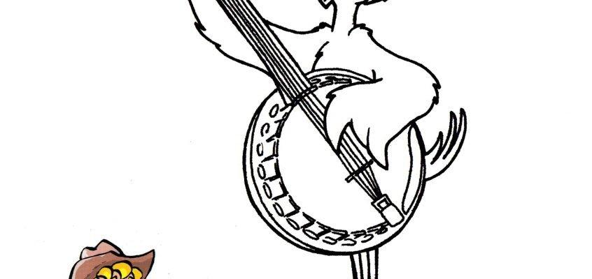 dessin banjo