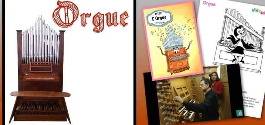 dessin orgue