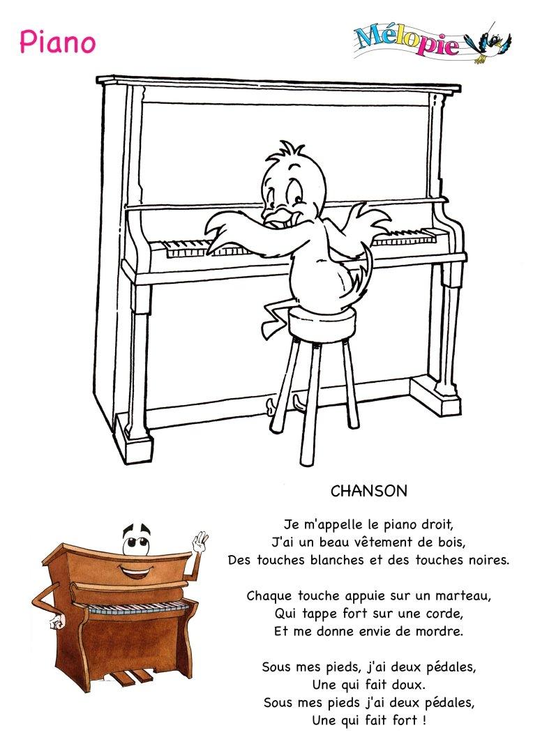 Dessin De Piano piano dessin, bricolages et conte musical   mÉlopie