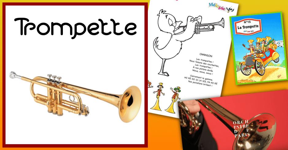 dessin trompette