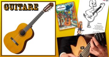dessin guitare dessin