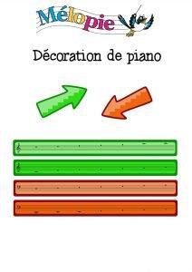 repère piano