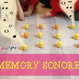 Jeux eveil musical : Mémory sonore