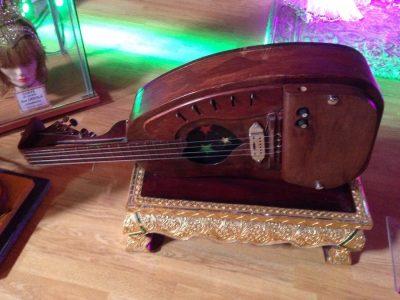 instrument de musique du cirque