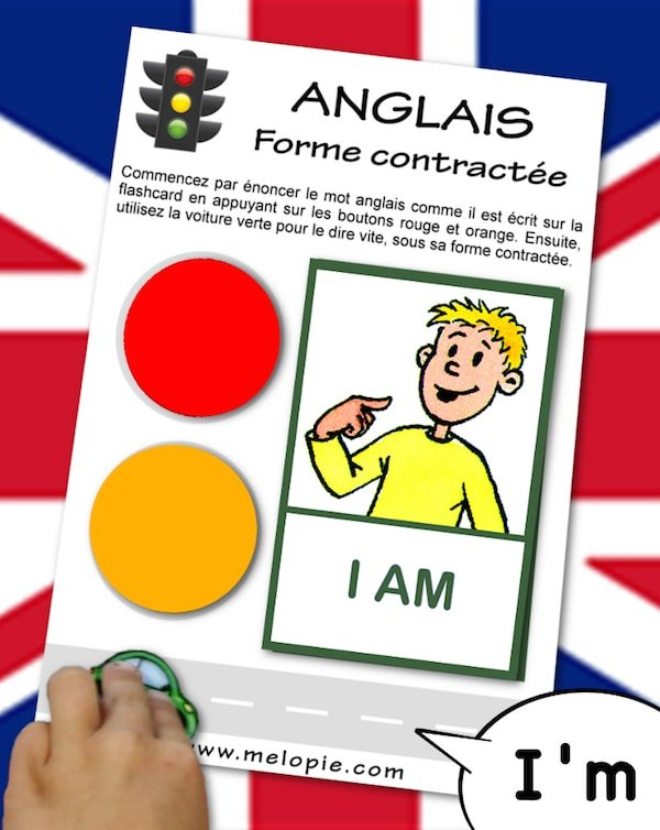 grammaire anglais contraction