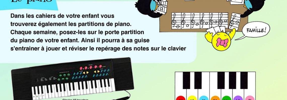 cours de musique enfant