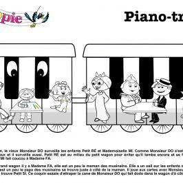 piano enfant ludique