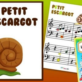partition petit escargot