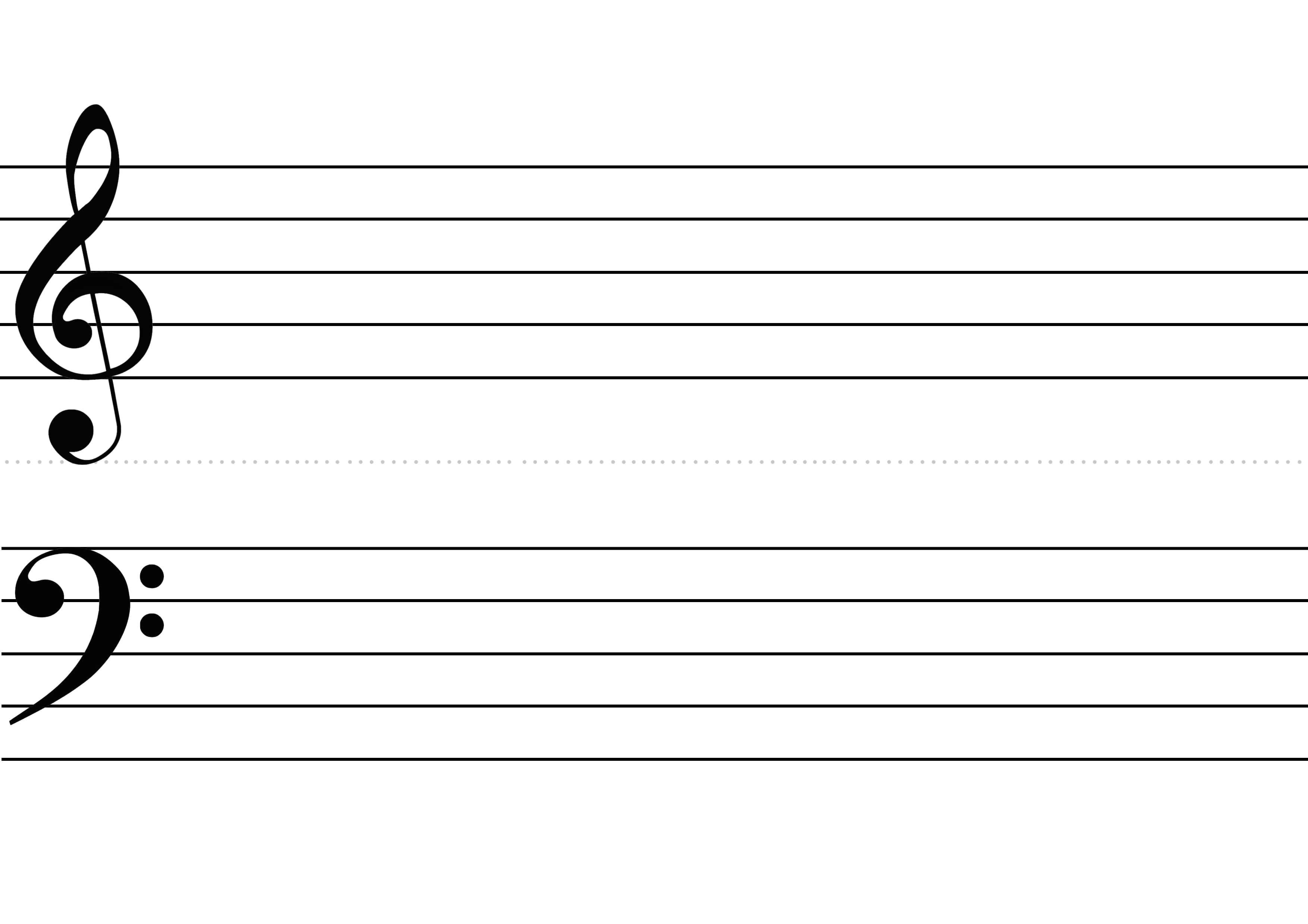 Feuille de partition vierge ks43 montrealeast - Feuille de musique a imprimer ...