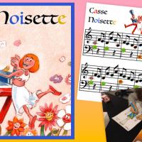 Casse Noisette : bricolage de Noël, partition et conte musical