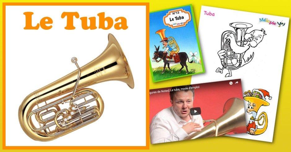 Instrument de musique : le tuba