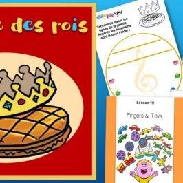 J'aime la galette : partition, activités d'anglais et conte musical