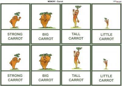 memory carrotte