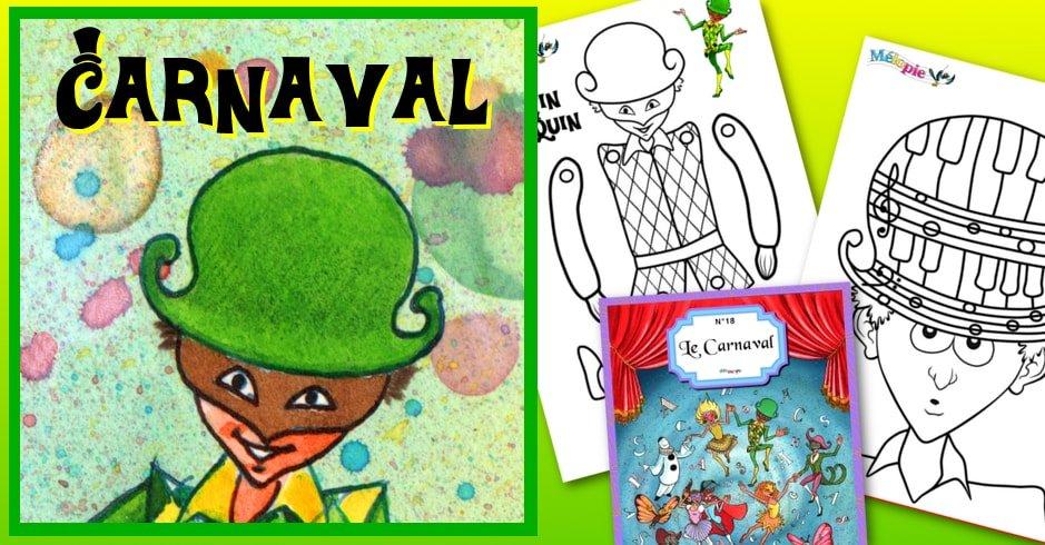 Activité Carnaval : Bricolage, jeu de musique et conte musical
