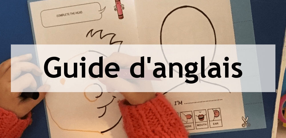 guide d'anglais