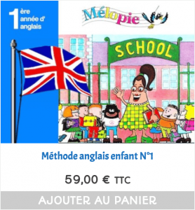 methode anglais maternelle