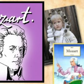 Mozart : Partition pour enfants, costumes et conte musical