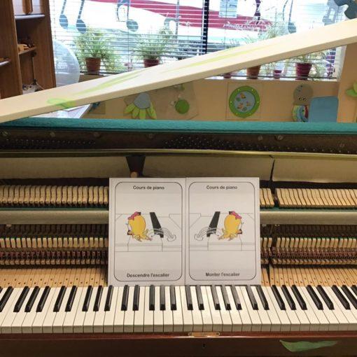 carte de piano