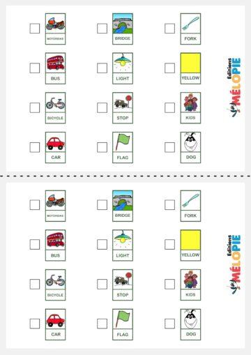 bingo en voiture