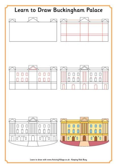 dessiner buckingham palace