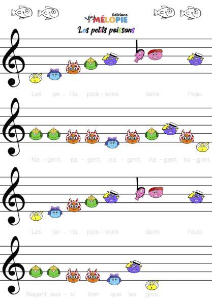 partition piano enfant