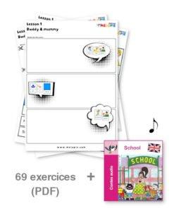 exercice anglais enfant