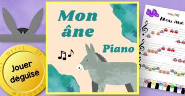 mon ane partition piano
